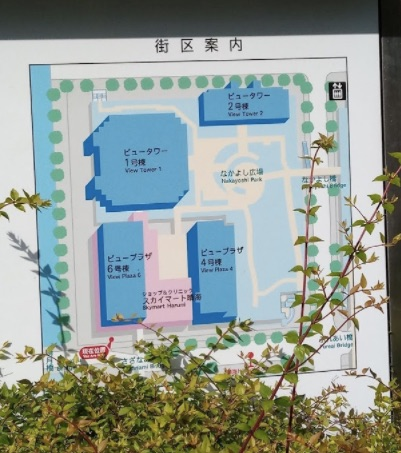 晴海ビュータワー1号棟周辺のマップ