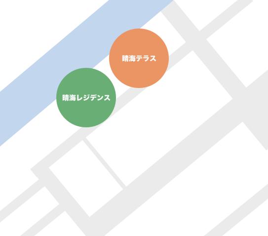 豊洲5丁目にあるタワーマンション一覧マップ