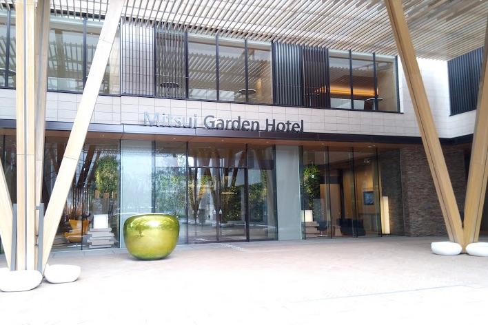 三井ガーデンホテルの外観