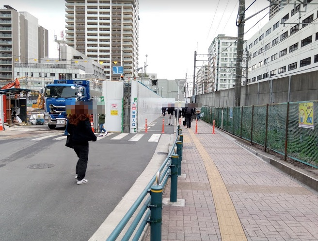 パークシティ武蔵小杉ザ・ガーデンまでの道のり