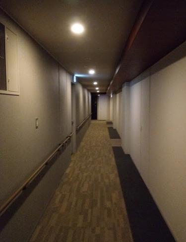 内廊下の写真