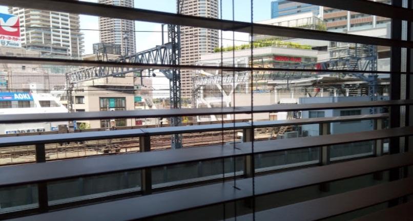 窓からの風景写真