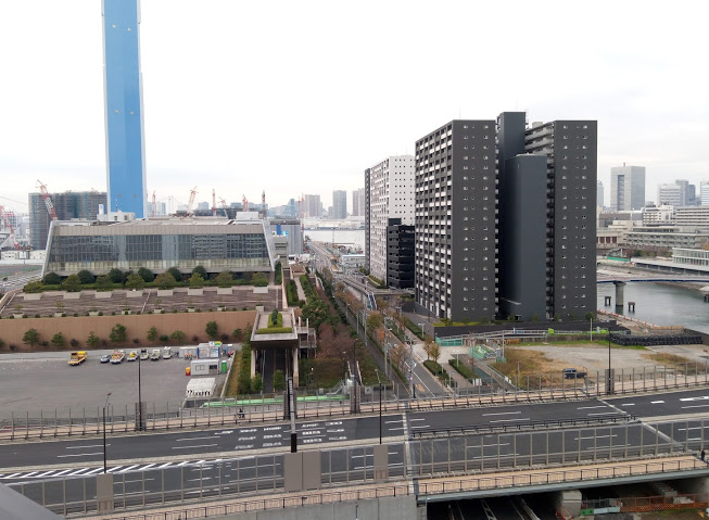 バルコニーからの眺望の写真