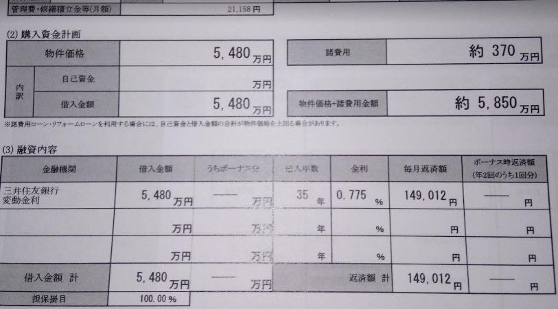マンション購入時にかかる諸費用を実際の資金計画表を元に調べてみた