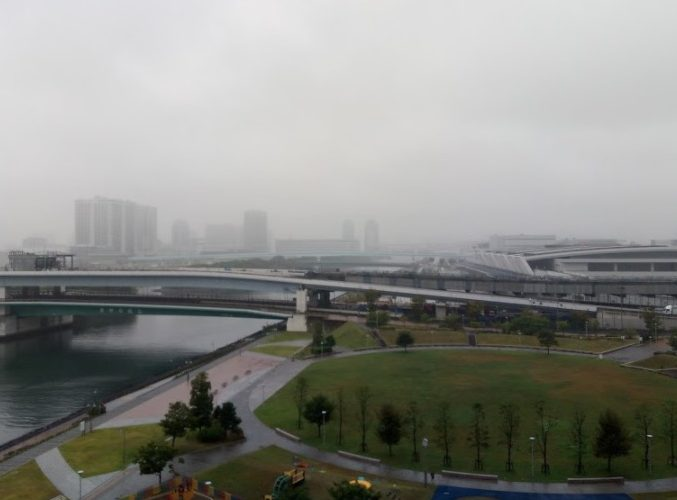 西側の眺望の写真