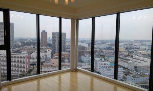 ダイレクトウィンドウからの眺望が最高。シティタワー有明の中古内見に行ってきました。